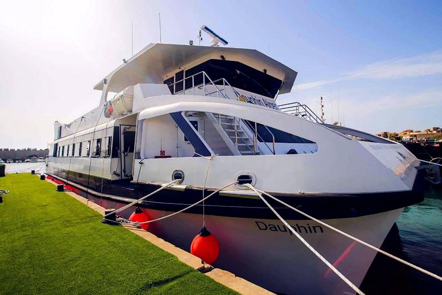 Dîner croisière sur le bateau Restaurant Le Dauphin