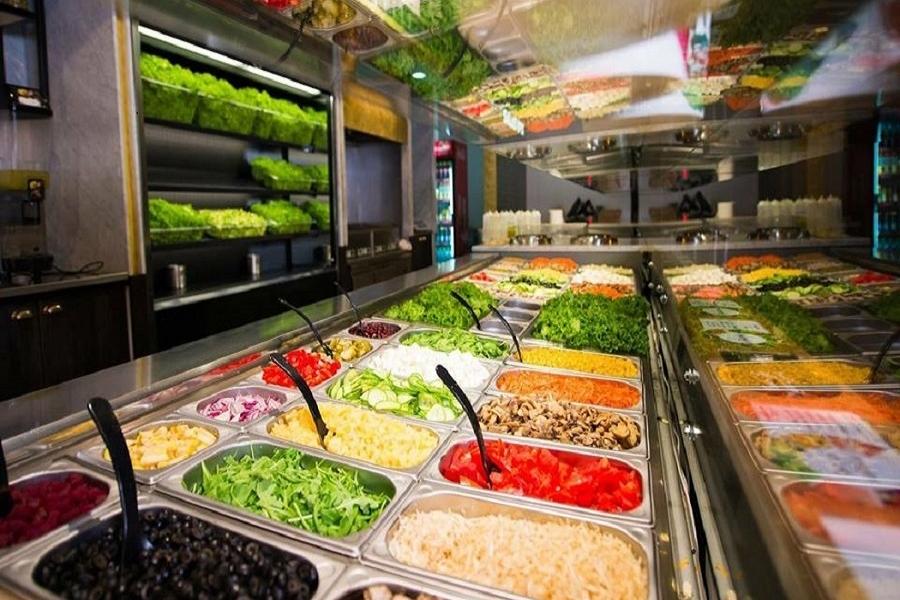 Salad Box. Manger bio à Alger