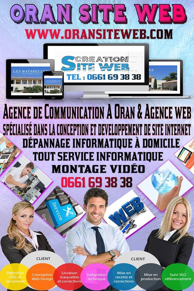 agence de création des site web