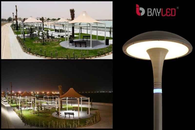 شركة BAYLED لصناعة الانارة الخارجية والعمدة بجميع انواعها